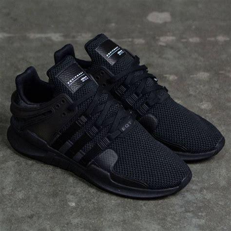 Adidas Shoes Mens Black by Adidas Equipment Support Adv Black Black Footwear White Sneakers Adidas Shoes