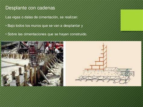 cadenas de construccion muros cadenas y castillos