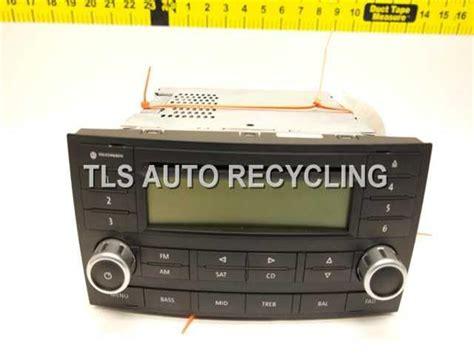 volkswagen touareg radio 2009 volkswagen touareg radio audio 7l6057180b