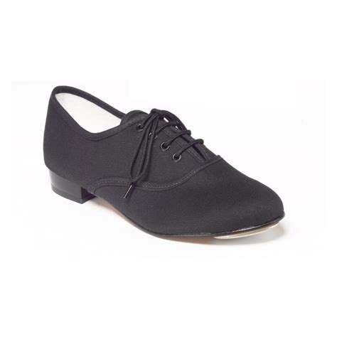 black canvas boys and mens oxford tap shoes dancewear