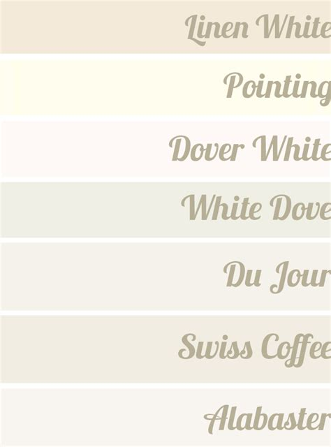 using swiss coffee and linen white paint in the same area search house