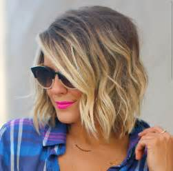 Short ombre bob cut with soft waves jpg