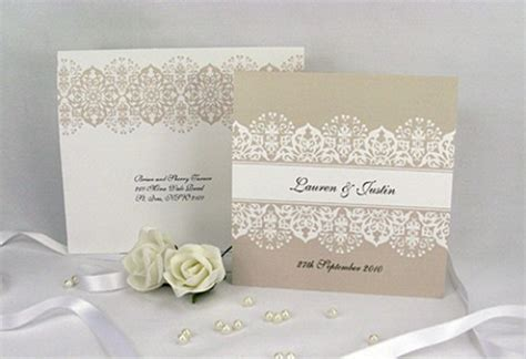 how to make lace wedding invitation cards wedding invitations to set the tone for your big day