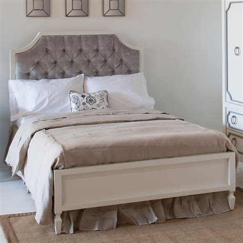 Newport Cottages Bed by Newport Cottages Beverly Bed With Tufted Panel