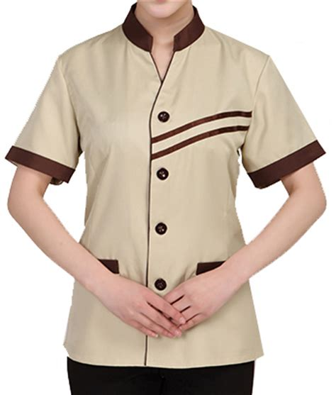 design your own cafe uniform 2016 new design custom restaurant hotel cleaner uniform