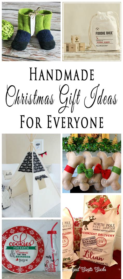 Handmade Presents For - handmade gift ideas for everyone on your list