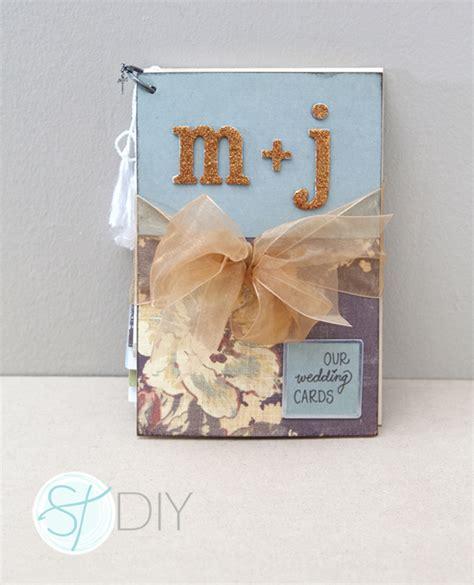 diy wedding cards tutorial on diy greeting card mini album for your wedding cards