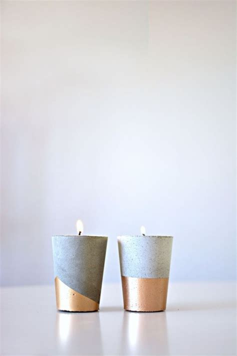 shabbat candle holders diy best 20 cement ideas on cool stuff for cement crafts and concrete