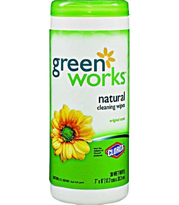 clorox  green works natural biodegradable cleaning wipes original scent  count