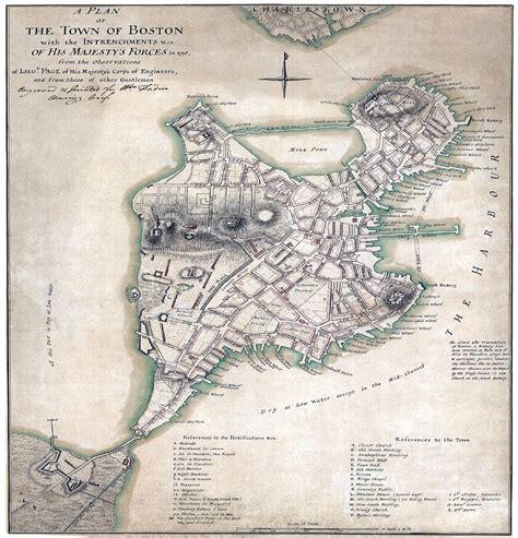 boston map 1775 mapknitter boston 1775