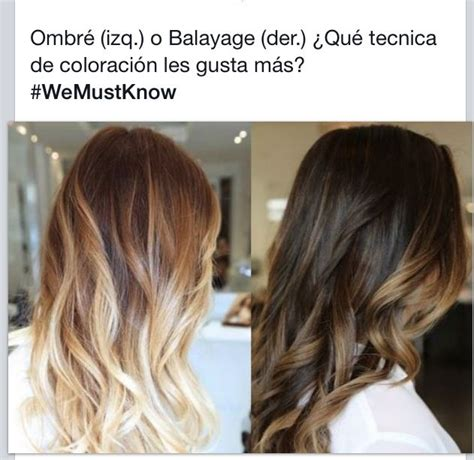 foils vs ombre highlights ombr 233 vs balayage beauty obsessed pinterest