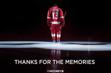 thanks for the memories pavel datsyuk announces that he is leaving the red wings