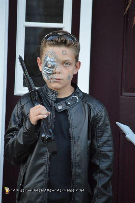 terminator costume  tween boy