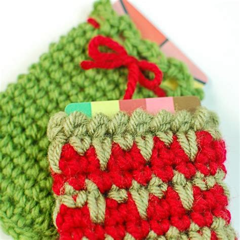 holiday gift card holders free crochet patterns