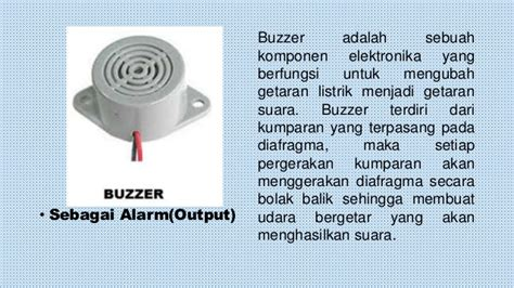 Buzzer Pasif 5v alarm penanda gerak manusia dengan sensor pir