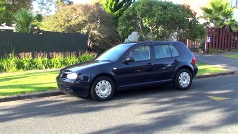 Golf Das Auto Youtube by Vw Golf 2002 67km 1 6l Auto Youtube