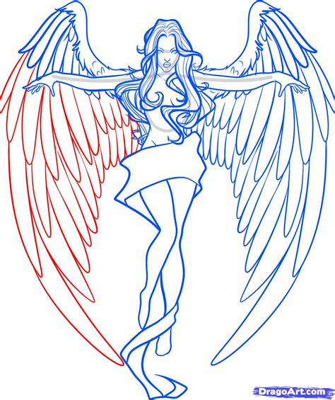 doodle angles wings drawing search drawing tips
