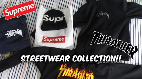 supreme streetwear my streetwear collection unboxing supreme stussy