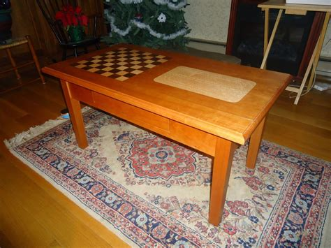 made chess cribbage coffee table by hitchcock