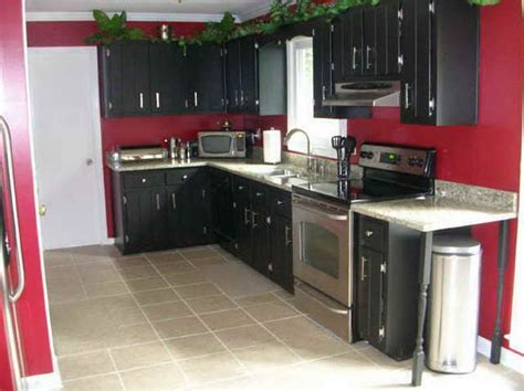 red and black kitchen cabinets 17 best ideas about red kitchen walls on pinterest red