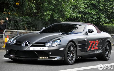 mercedes slr mclaren roadster 722 s 23 october 2012