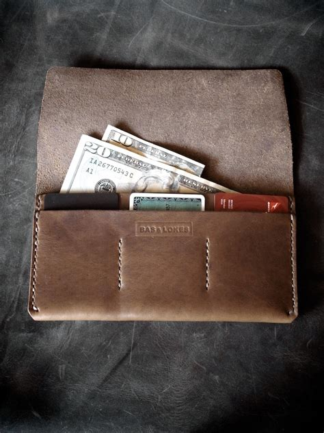 Leather Wallets For Handmade - handmade leather wallet on leather card