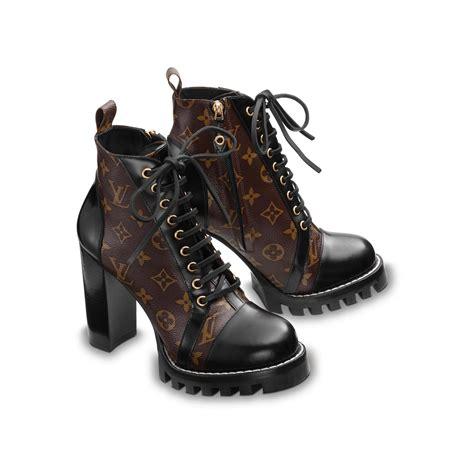 louis vuitton boots trail ankle boot shoes louis vuitton