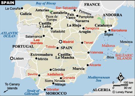 Landeninfo Spanje