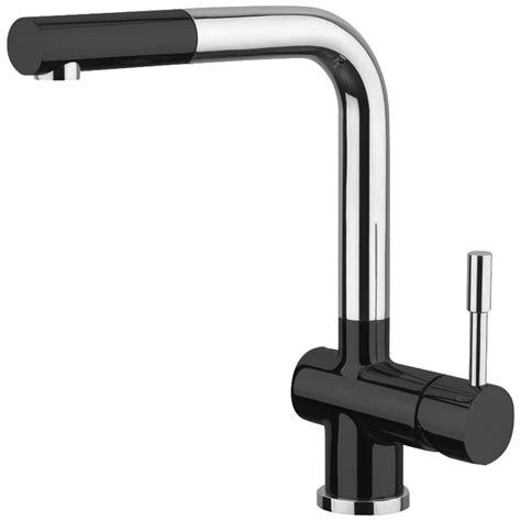 Astini Zetland Brushed Steel Pullout Astini Loris Brushed Stainless Steel Black Pullout Rinser Kitchen Tap Hk82 Ebay