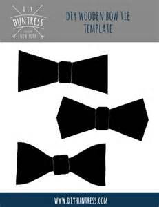 Bow Tie Template by Diy Wooden Bow Ties Diy Huntress