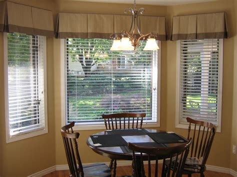 kitchen bay window curtain ideas blindlady s houzz traditional curtains toronto by s custom decorating