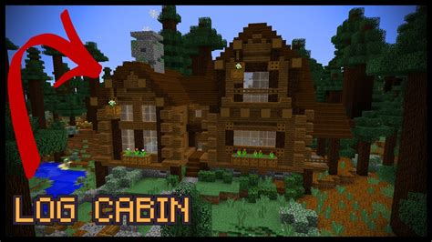 How To Build A Log Cabin Minecraft by How To Make A Minecraft Log Cabin