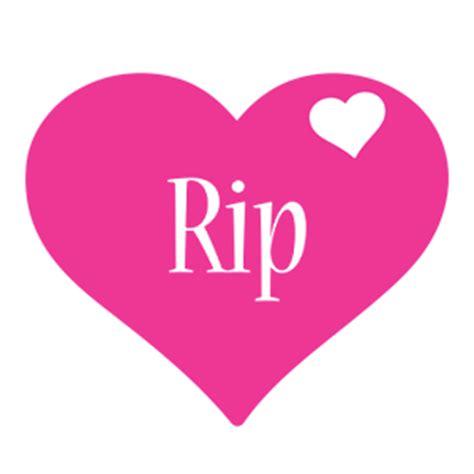 name style design rip logo create custom rip logo love heart style
