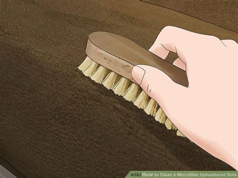 Best Way To Clean Microfiber Sofa by The Best Ways To Clean A Microfiber Upholstered Sofa Wikihow