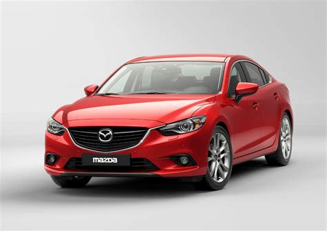 mazda motors mazda 6 to be premi 232 red at 2012 moscow motor show