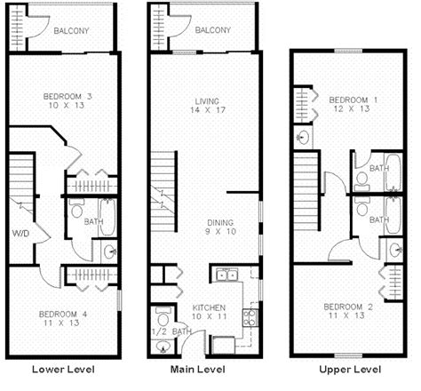featured apartment floor plans www boyehomeplans com featured bloomington apartment 4 bedroom at covenanter hill