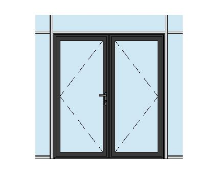 door in curtain wall aluk 58bd residential double door curtain wall insert