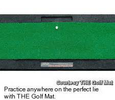 Vijay Singh Golf Mat by Looking For A Great Gift For The Travellin