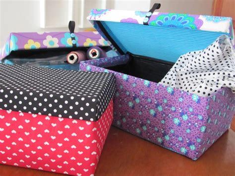 como decorar cajas de carton con tela para bebes bricolaje 10 187 cajas de cart 243 n decoradas cajas de cart 243 n