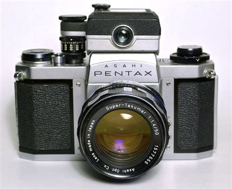 pentax camer pentax sm with clip on meter photo net