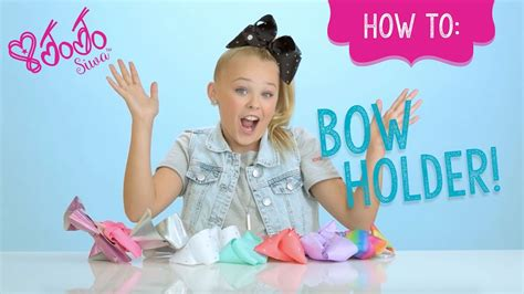 Jo In Black how to use jojo siwa bow holder claire s