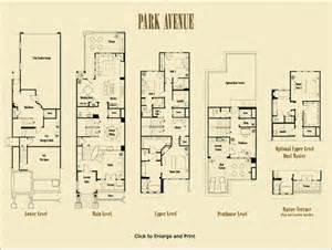 Apt Floor Plans park avenue floorplans