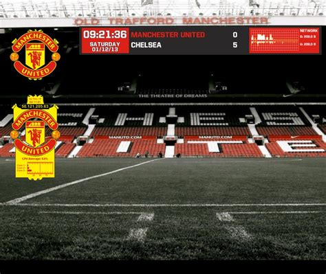 themes facebook manchester united manchester united rainmeter by mlbryant on deviantart