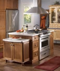 kitchen island stove top kitchen helpful tools merillat