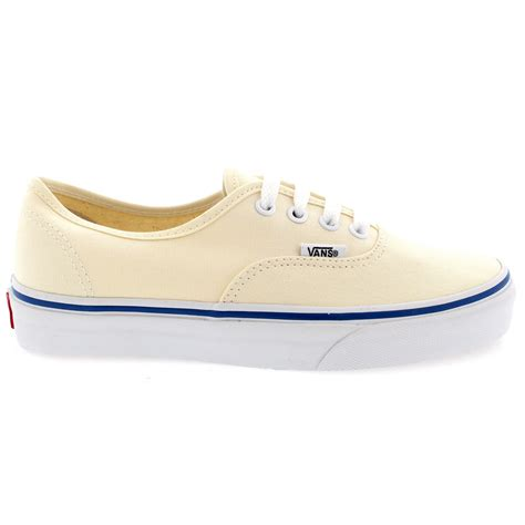 womens vans authentic casual lace up canvas plimsoll low