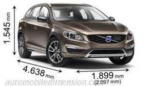 Volvo V60 Dimensions Dimensions Of Volvo Cars Showing Length Width And Height