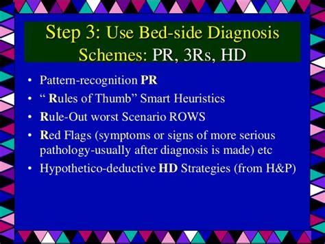 pattern recognition in diagnosis experts decision making schemes slide share
