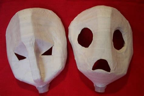 Paper Masks - 23 cool paper mache mask ideas guide patterns