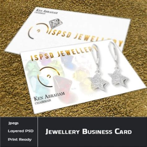 Jewellery Business Card Templates Psd by 301 Moved Permanently