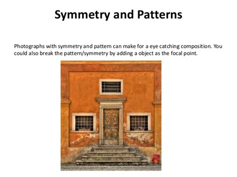 symmetry and pattern photography definition photo composition and technical aspects
